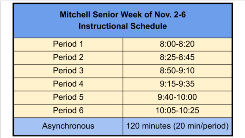 Alternate School Schedule