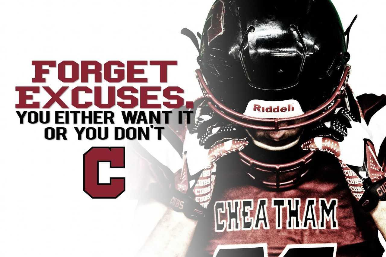 forget excuses