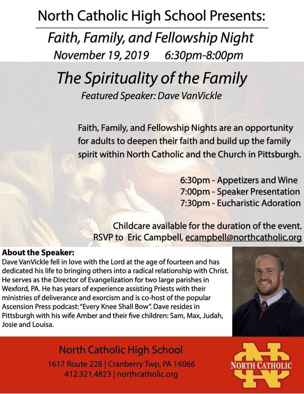 Faith, Family, Fellowship at North Catholic