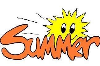 summer with sun logo