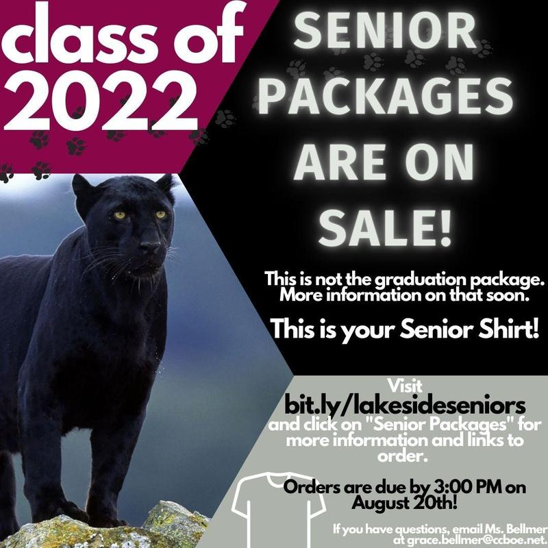 Senior Package sale information.