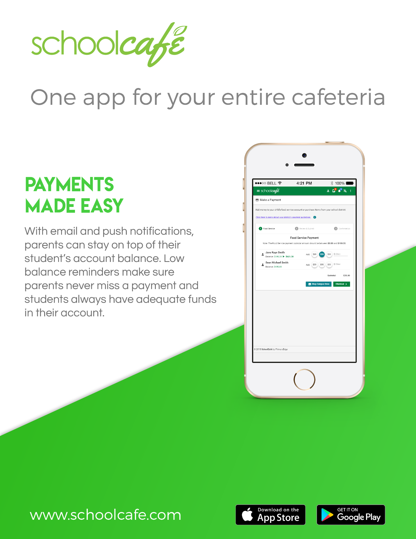 SchoolCafe Payments