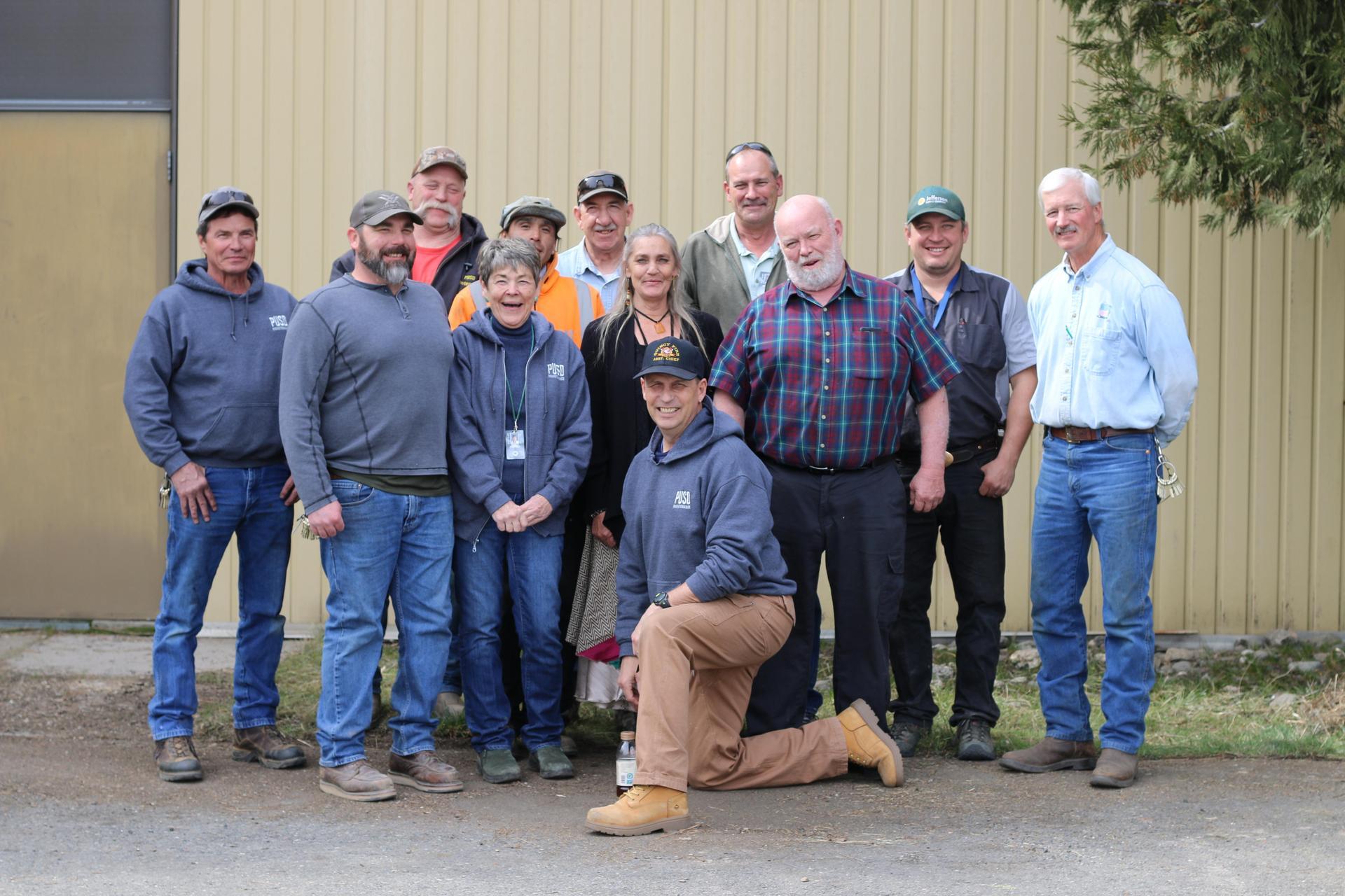 PCOE/PUSD Maintenance & Operations Staff