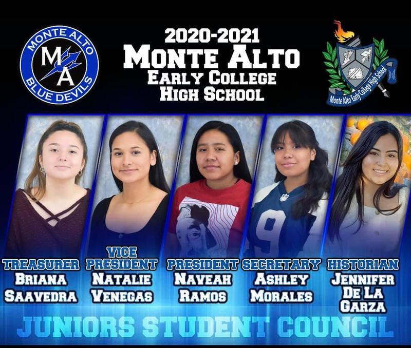 Monte Alto ECHS Student Council: Junior Class Featured Photo