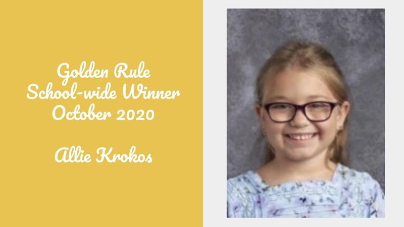 Golden Rule Student of the Month - October Featured Photo
