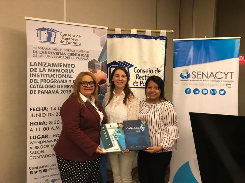 Lanzamiento de la Memoria Institucional del Programa y Catálogo de Revistas de Panamá 2019 Featured Photo