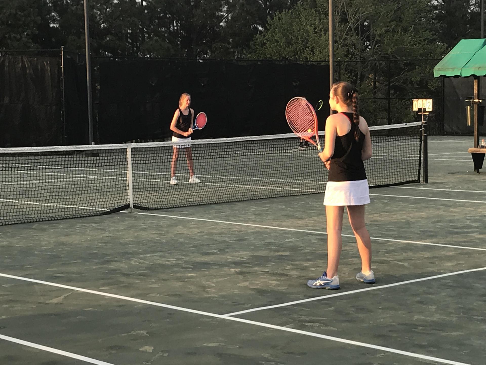 WLMS Girls Tennis