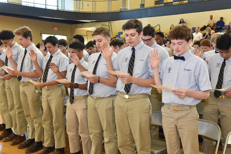 Students Inducted into National Honor Societies Featured Photo