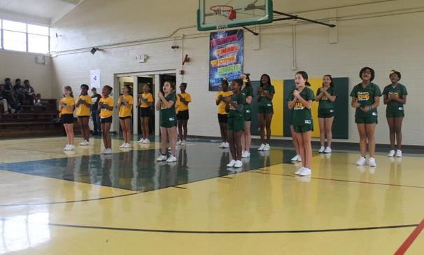 Plaisance Middle School 2018-2019 Cheerleaders !