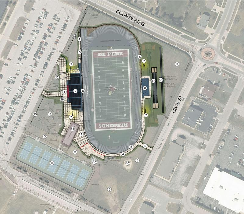 stadium site plan