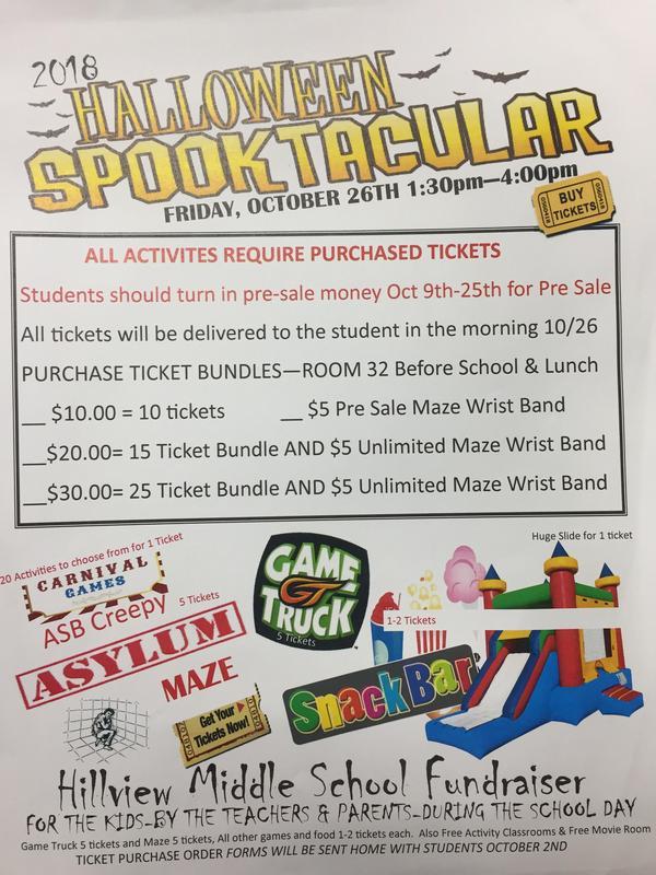 Spooktacular Pre-Sale Tickets