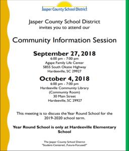 Community Information Session