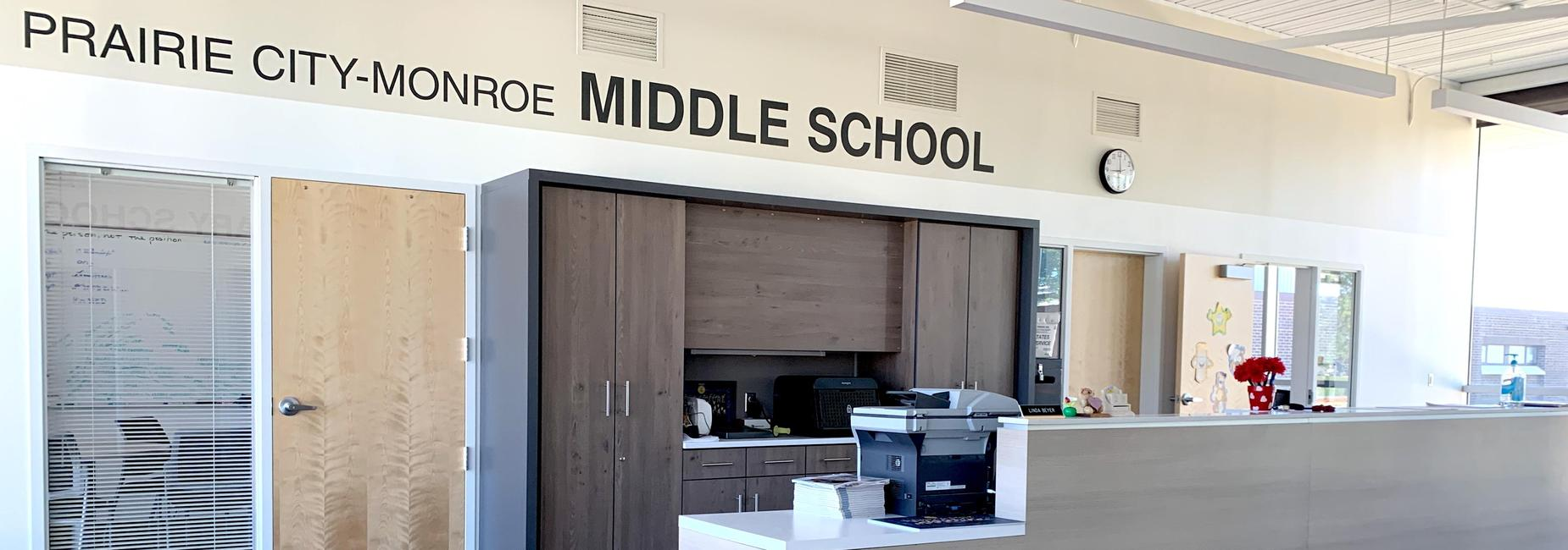 Picture of Middle school front office