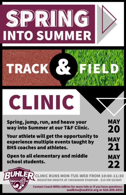 Spring into Summer T&F Clinic Thumbnail Image