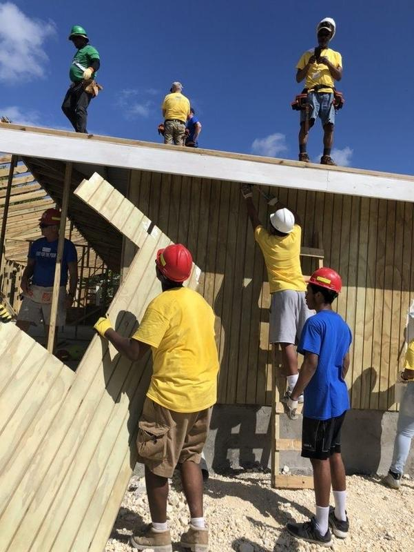 ACAD Scholars Build a Home for a Jamaican Family in Four Days Thumbnail Image