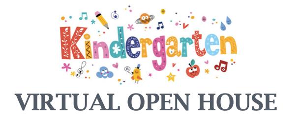 Kindergarten Open House graphic