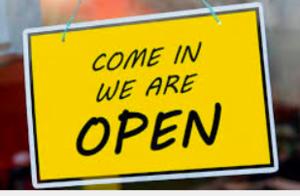Office is open