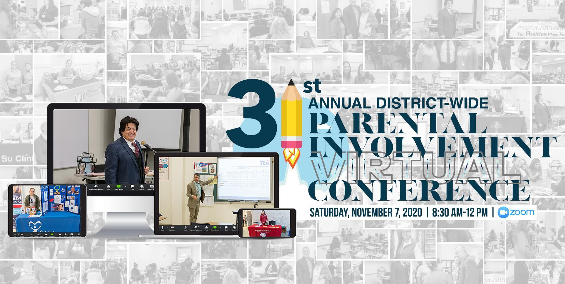 HCISD hosts 31st Annual Parental Involvement Conference virtually