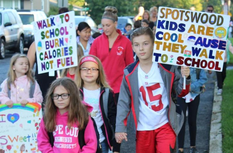 National Walk to School Day 2018 Featured Photo