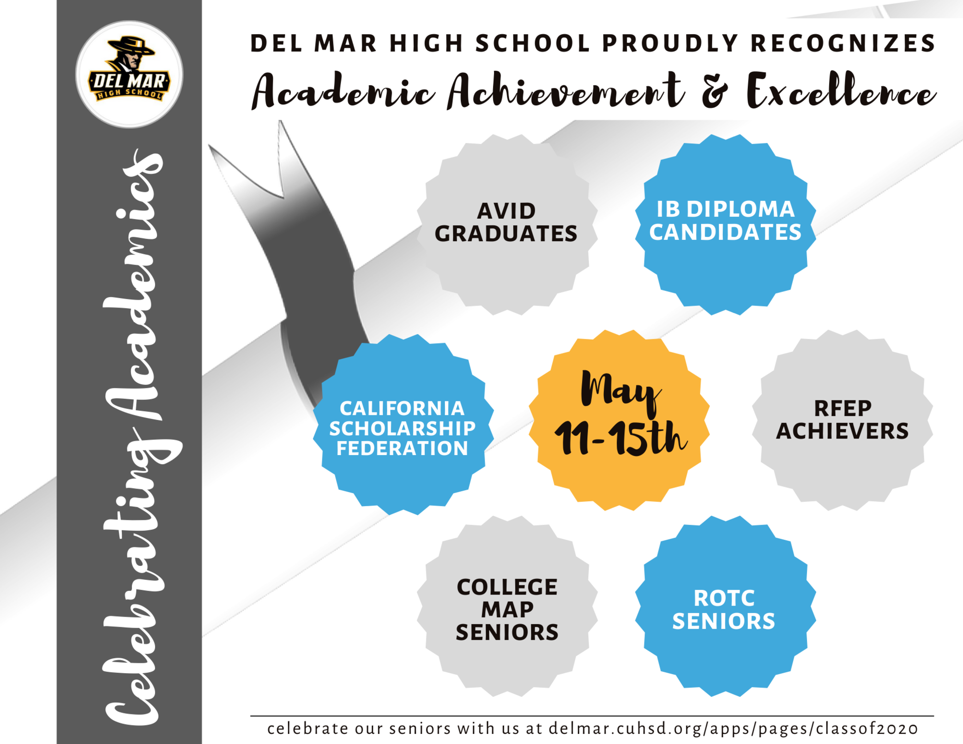 image of academics week recognitions flyer