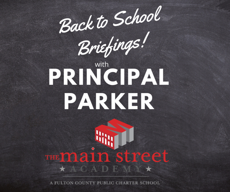 TMSA Live 2020 - 2021 Back to School Briefings with Principal Parker Featured Photo