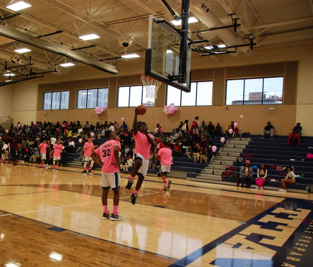 CPA Titans Pink Out Game 2017