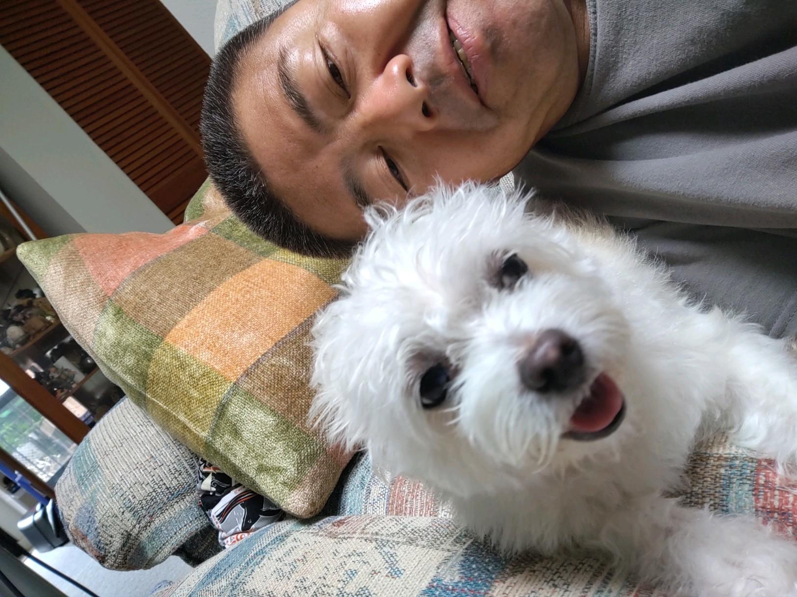 Mr. Minobe and Dog Friend