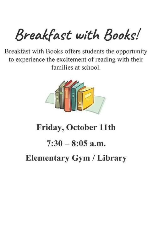 breakfast with books flyer