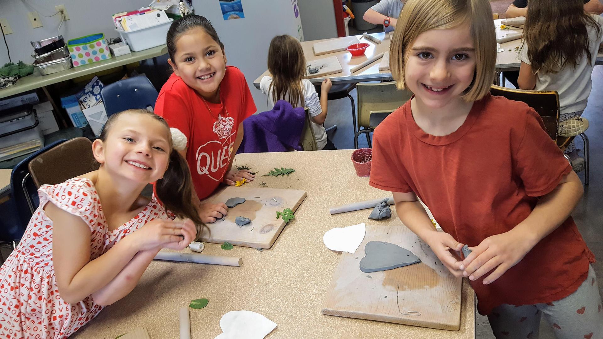 2nd grade ceramics
