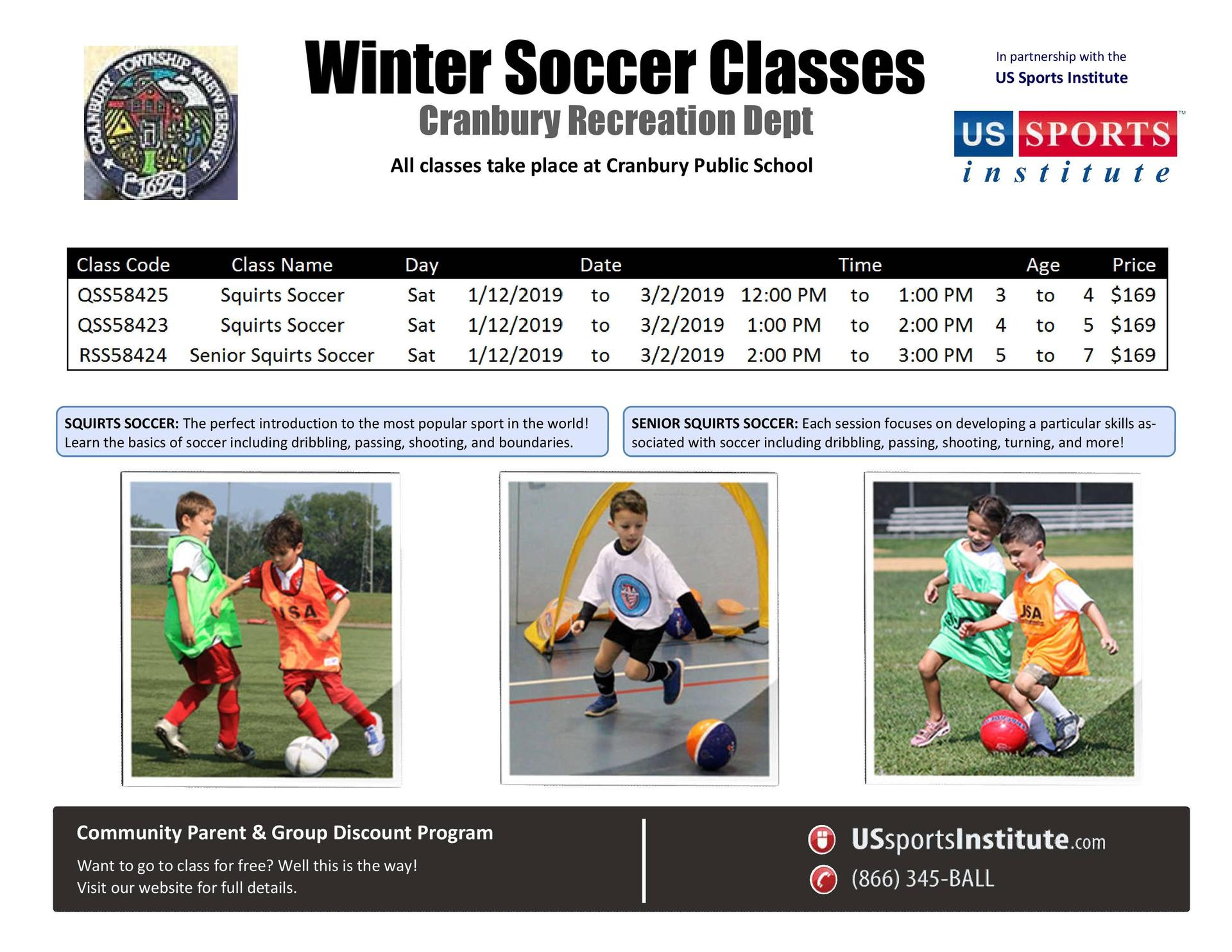 Rec Winter  Soccer
