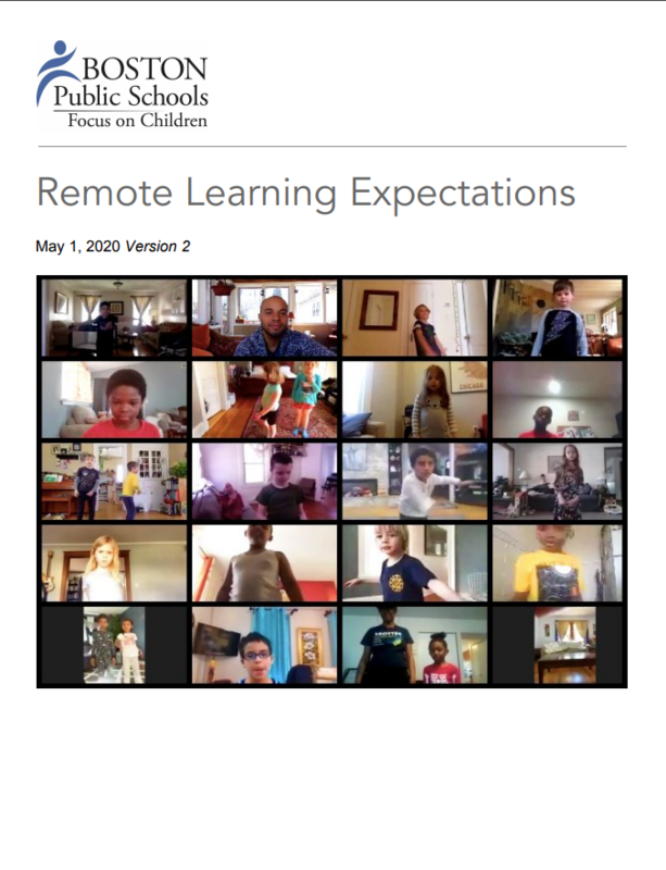 BPS Remote Learning Cover