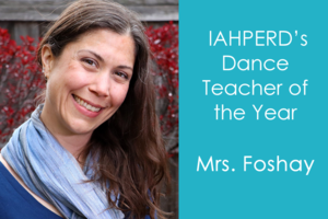 Img Mrs. Foshay Dance Teacher of the Year