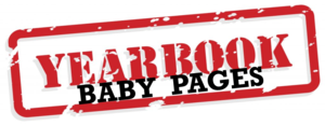 yearbook baby page announcement