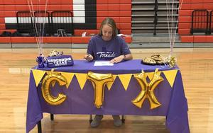 CHS Jenna Townsley Signing Day