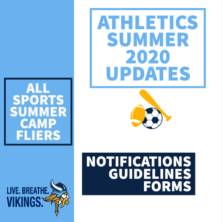 Summer 2020 Sports Updates/ Guidelines/ Forms Thumbnail Image