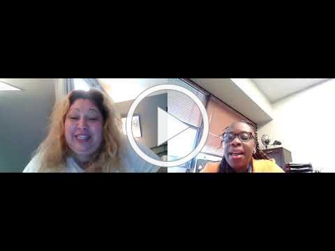 myrna and Sandra Bea zoom announcements