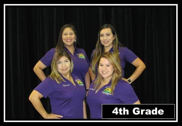 Fourth Grade staff