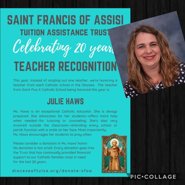 SFOA Annual Event - Teacher Recognition Thumbnail Image