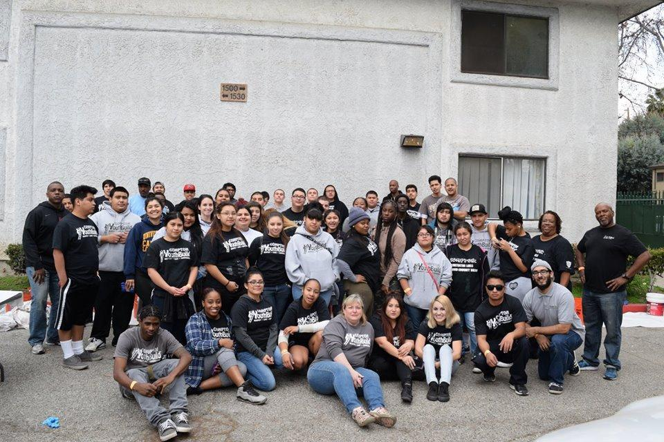 Service Day at Compton YouthBuild 2016