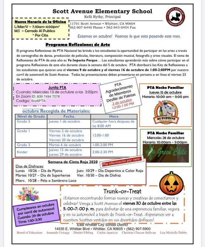 Picture of October Newsletter