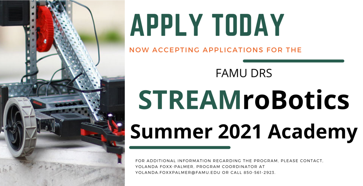 STREAM Robotics Application Notice
