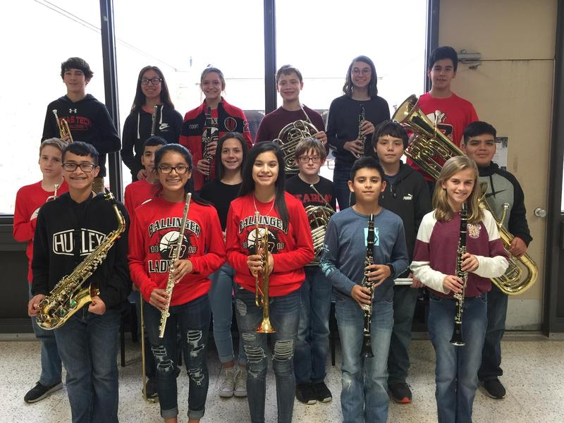 BJHS Students make All Region Band Featured Photo