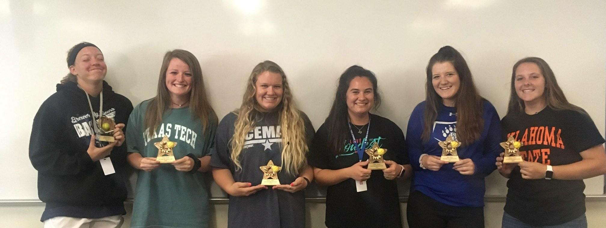 Seven Brewer High School softball players were named to the 6-5A All District Softball Team