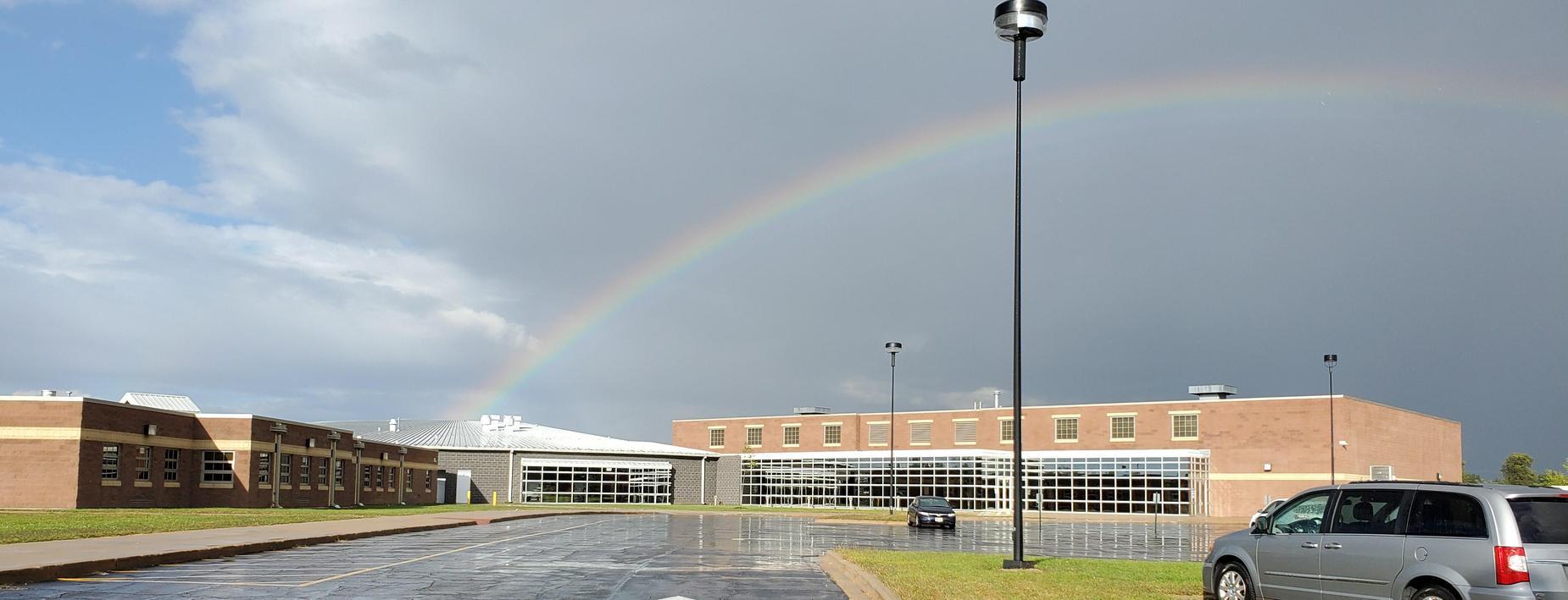 Rainbow at MS