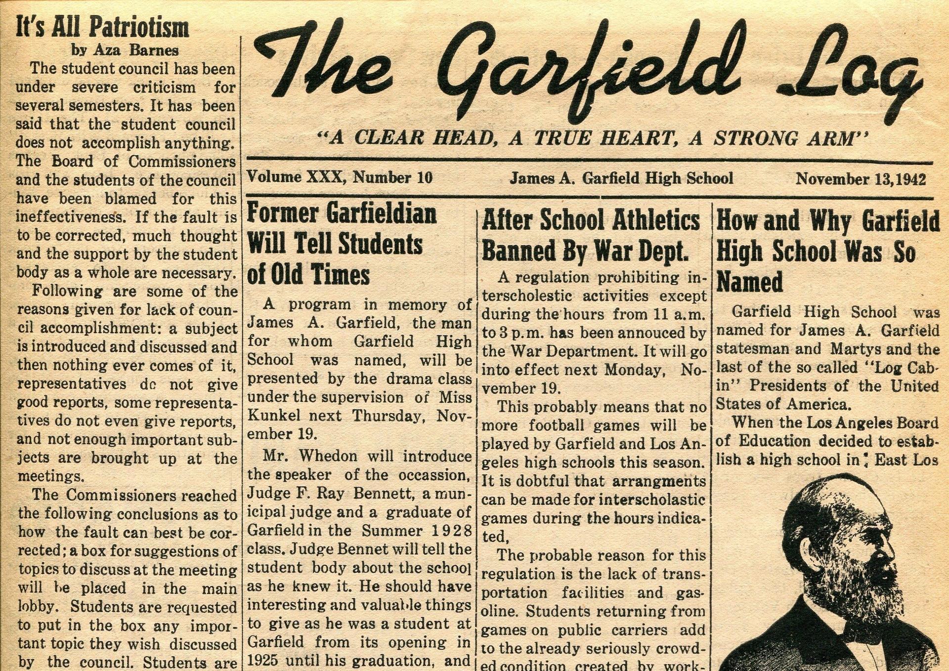 School Newspaper 1940s