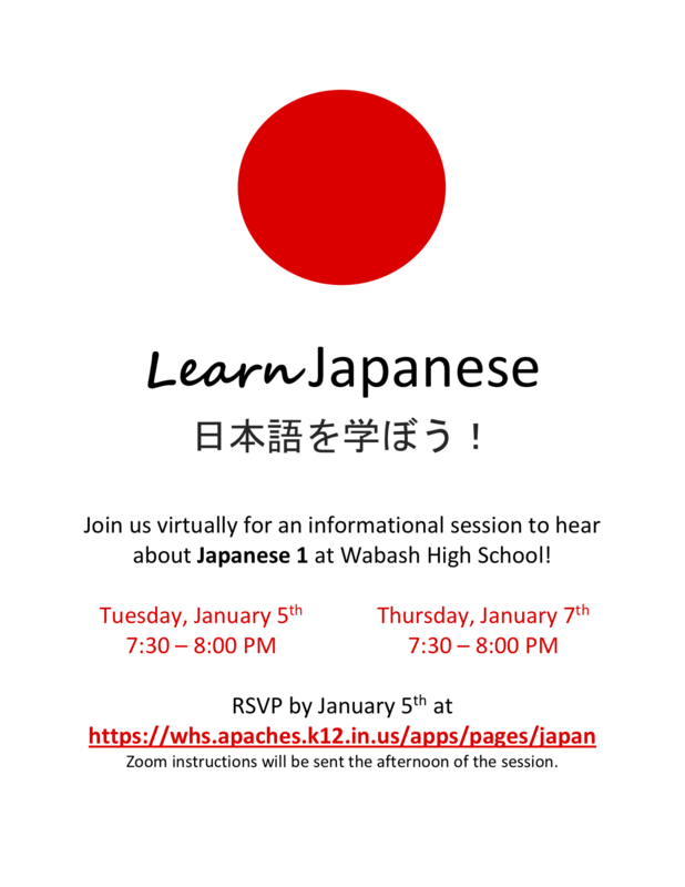 Learn Japanese Flyer