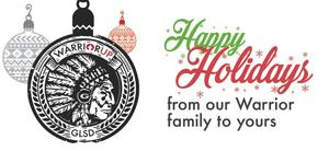 Happy Holiday's from our Warrior Family to Yours!