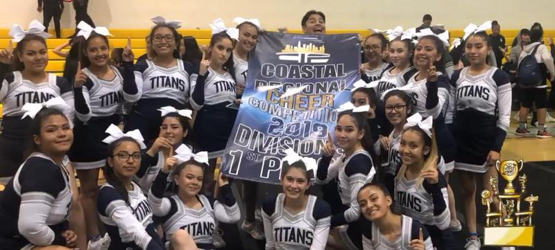 Cheer Team Heading to CIF City Championships Thumbnail Image