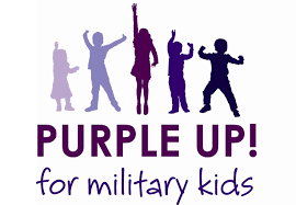 Purple Up! For Military Kids