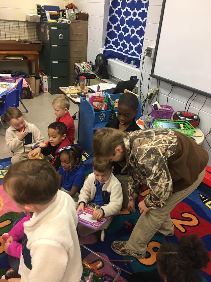 Working in Pre-K